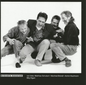 Bründl's Basslab with Manfred Bründl, Matthias Schubert, Achim Kaufmann and Billy Elgart - Aisha (1991) CD booklet