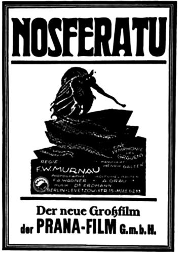 F.W. Murnau's Nosferatu (1922) film poster