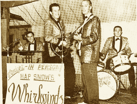 Hap Snow's Whirlwinds in 1963