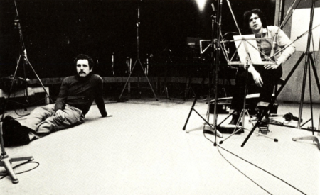 Roger Jannotta and Bill Connors (photo by Signe Mähler from Path LP back cover)