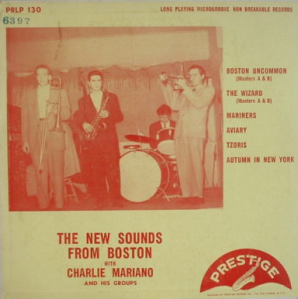 Charlie Mariano - The New Sounds From Boston With Charlie Mariano (1951) Prestige