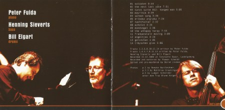 Peter Fulda Trio - The Nightmind (2002) JAZZ'n'ARTS RECORD CD booklet