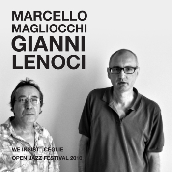 poster for Marcello Magliocchi and Gianni Lenoci at Open Jazz Festival 2010