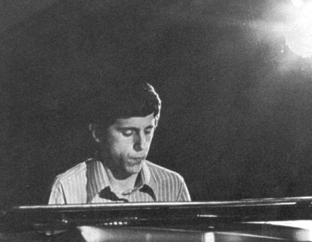Franco D'Andrea in the 1960s (photo from Discogs)