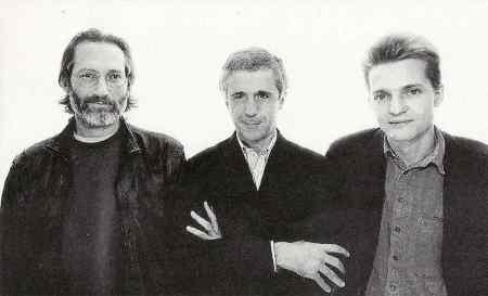 Franco D'Andrea Trio - Chromatic Phrygian (1996 Reissue) YVP Music CD booklet crop