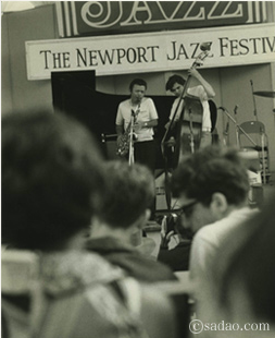 Sadao Watanabe at Newport in the late 1960s