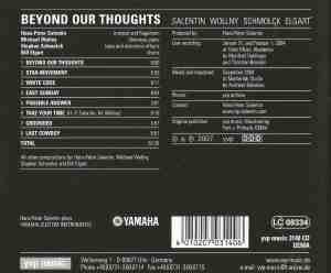 Hans-Peter Salentin – Michael Wollny – Stephan Schmolck – Bill Elgart – Beyond Our Thoughts (2009) YVP Music back