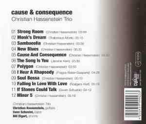 Christian Hassenstein Trio - Cause & Consequence (2017) DJAMtones back