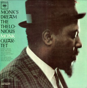 The Thelonious Monk Quartet - Monk's Dream (1963) Columbia cover
