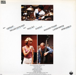 Masahiko Togashi - Lauren Newton - Peter Kowald - Contrast (1983) Paddle Wheel back