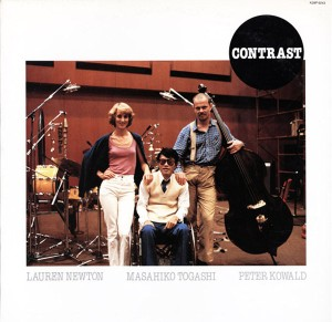 Masahiko Togashi - Lauren Newton - Peter Kowald - Contrast (1983) Paddle Wheel cover