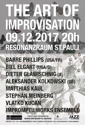 The Art of Improvisation concert poster